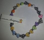 The trrtlz - DRAGONZ Rainbow Charm Bracelet