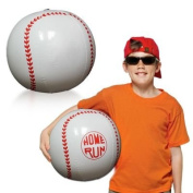 Inflatable 41cm Baseballs 12 Pack