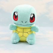 Pokemon Best Wishes Plush Doll Vivid Squirtle Cute Toy Gift for Kids 16cm
