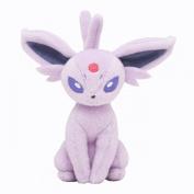 Pokémon Centre Original Plush Doll Sitting Trick Pose Espeon