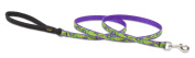 Lupine Big Easy Patterned Padded Handle Dog Lead, 1.3cm / 1.2m
