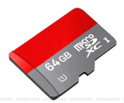 64GB UHS-I/Class 10 Micro SDXC Memory Card Up to 48MB/s With Adapter & USB CARD READER