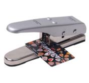 Signstek Portable Professional Flanger Guitar Pick Plectrum Maker Pick Cutter*Silver*