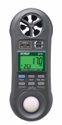 Extech 45170 Hygro-Thermo-Anemometer-Light Metre