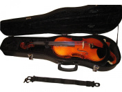 Vio Music ABS Strong Violin Case, Full-size 4/4, Extra Space for Shoulder Rest