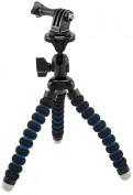 Arkon Flexible Mini Tripod Mount for GoPro HERO Action Cameras Retail Black