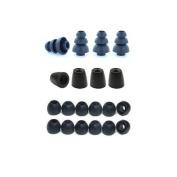 Extra Small - Earphones Plus brand replacement earphone tips custom fit assortment