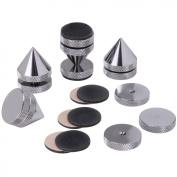 Dayton Audio ISO-4C Black Chrome Isolation Cone Set 4 Pcs.