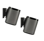 FLEXSON AAV-FLXP1WB2021 Wall Bracket for PLAY:1 SONOS Speakers, Pair, Black