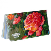 Rose Plants Chequebook Cover