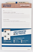 Action Day - Decisions & Actions Pad - Size 5x8 - Layout Designed to Plan & Execute Decisions - Planning Pad