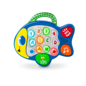 Bright Starts Baby Learn Lights and Giggle Fish Toy