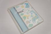 Baby Boy Blue journal Memories Record Book Keepsake Box Kids Woodland Animals - Ideal Gift