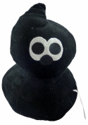 25cm Comical Egg Soft Toy - Black Comical Egg - 6 To Collect - TV Toys -