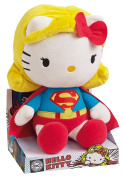 Jemini - Peluche Hello Kitty Super Héros - Superwoman 27cm - 3298060227919