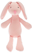 Walton Baby - Ruby Rabbit - Knitted Baby Soft Toy Pink - 32cm