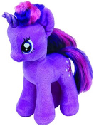 Ty UK 18cm My Little Pony Twilight Sparkle Beanie