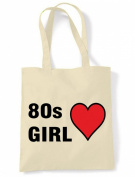 80s Girl Eco Friendly Tote / Shoulder Bag