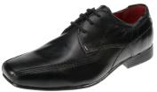Red Tape Sandbach Kids Leather Black Junior Lace Up Boys Formal Shoes UK 1 - UK 6