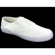 DEK Junior 4 Eyelet Classic Lace Plimsolls White