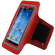 Red Black ArmBand For for Samsung Galaxy Note 3