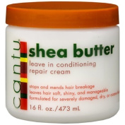 Cantu Shea Butter Leave In Conditioning Repair Cream, 470ml (Pack of 2) Body Care / Beauty Care / Bodycare / BeautyCare