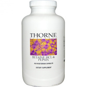 Thorne Research, Betaine HCL & Pepsin, 450 Vegetarian Capsules