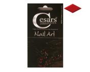 Cesars Nail Art Diamond Red