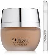 Kanebo Sensai Cellular Performance Cream Foundation Number CF24, Amber Beige 30 ml