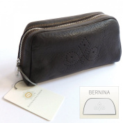 "Sonnenleder-High-Quality Cosmetic Bag with ""("" BERNINA Pattern Colour"