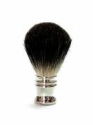 Golddachs / Shaving Brush - Metal Silver / Stock Hair