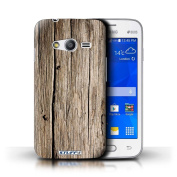 STUFF4 Phone Case / Cover for Samsung Galaxy Ace 4 Lite/G313 / Driftwood Design / Wood Grain Effect/Pattern Collection