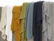 Coyuchi Organic Cotton Honeycomb Blanket - Twin - Mid Grey