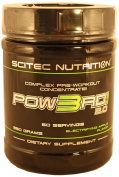 Complex Pre-Workout Concentrate, Scitec Nutrition Pow3rd 2.0, Apple, 350g, 50 servings