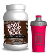 Meal Replacement Shakes for Weight Loss with FREE shaker bottle - Chocolate Flavour