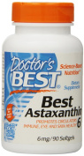 Best Astaxanthin 6, 6 mg, 90 Softgels - Doctor's Best - UK Seller