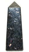 Nuumite (Chinese) Polished Obelisk Carving 1 Supplied 45-50MM OBSKNU01