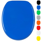 Soft Close Toilet Seat | Wide choice of monochrome toilet seats | Stable Hinges | Easy to mount |
