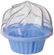 Set of 2 Silicone Cupcake Holders Pink and Blue for cupcakes-to-go