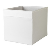 DRÖNA 33x38x33 cm Home/Office White Storage Box Perfect for everything from newspapers to clothes