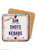 Today It's...Gin Not Gym Coaster