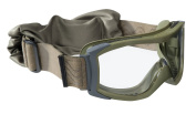 Bolle X1000 Tactical Nato Green Goggles Clear standard lens