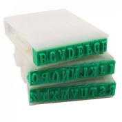Sonline Detachable 26-Letters English Alphabet Plastic Stamp Set