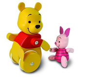 Winnie The Pooh Waddle 'n' Follow Pooh and Piglet