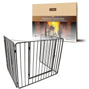 Metal Child Safety Fire Guard Fireplace Screen Hearth Gate 97 x 77 x 76cm