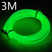 Lychee Neon Light El Wire Battery Pack for Parties,with Battery Box Kit With 3 Modes