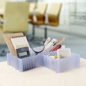 New Any-way Slot Together Drawer Organiser Dividers 5PCS