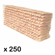 250 x Wood clothes pegs from Simply Direct. General Purpose.
