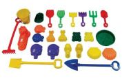 Chad Valley 25 Piece Sand Accessory Set