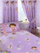 Dora the Explorer Swirl 140cm Curtains